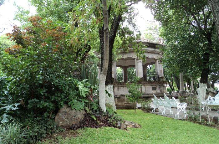 Jardín detallado