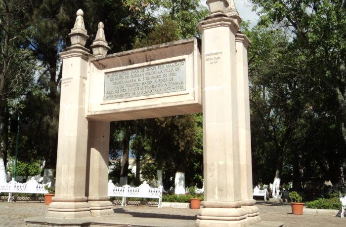 Monumento a la fundación de la Primera Guadalajara