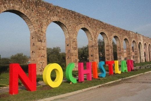 Letrero de Nochistlán